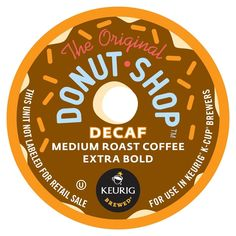 Coffee People Donut Shop DECAF 44 K-Cups *** A special product just for you. See it now! : K Cups