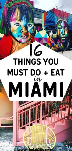 16 Things You Must Do and Eat In Miami - - This Miami Travel Guide lists the top 16 places to visit and best restaurants to eat at in this vib - Europe Travel Tips, Travel Usa, Travel Guide, Travel Destinations, Travel Info, Travel Hacks, Europe Packing, Traveling Europe, Backpacking Europe