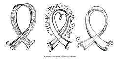 Zenspirations - BLOG - Think Pink! Free Downloadable Coloring Pages!