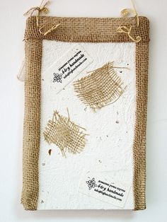 Handmade paper panel for jewelry by Boby Dimitrov, via Flickr