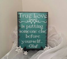 True Love Is Putting Someone Else Before by CraftyWitchesDecor