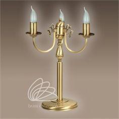 Lampa mosiężna Flamand. Sprawdź naszą ofertę na http://dragonfly24.com.pl/