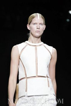 Let's start with the end of the Alexander Wang show, because that is what everyone is going to remember about his latest collection. After producing a fine show, which put the designer's expert tai...