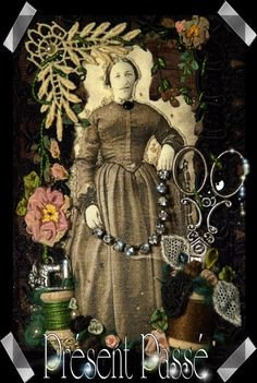 embroidery by Evelyne Mauvilly link http://www.present-passe.com/
