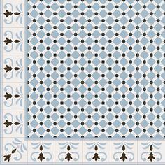 Floor tiles range 1900 in size, is a gres tile with like finish. Diorama, Downstairs Toilet, St Joseph, Porcelain Tile, Art Nouveau, Tile Floor, Flooring, Cement Tiles, Mosaics