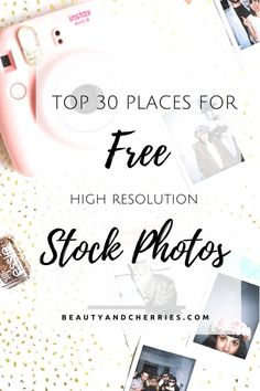 30 Places To Get Free Stock Photos For Your Blog Post. Don't beat yourself up…