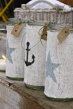 Gaine maritime pour verre, bocaux