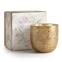 Illume®️️ Luxe Sanded Mercury Glass Candle - A sandblasted finish creates a modern take on mercury that adds texture to a luxurious holiday setting. Perfect decor for the grad's new living situation. Candle Box, Candle Jars, Glass Candle, Glass Vessel, Glass Jars, Candles Online, Candle Diffuser, Perfume, Christmas Candle