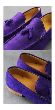 mens Custom-made Dean Suede Tassel Loafer at Fabrixquare