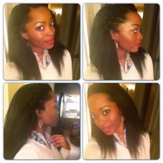 Astounding Hair Braids And Products On Pinterest Short Hairstyles For Black Women Fulllsitofus