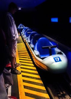 Disney - Space Mountain Loading (Explored) by Express Monorail, via Flickr
