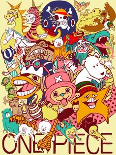 One piece animals
