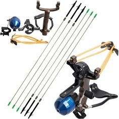 Shooting Fish Slingshot 1 shooting fish slingshot. Multi-function: it can not only be used for shooting fish, but also shooting arrows! Functions: Shooting fish or arrows, entertainment. Fishing Hunting Arrows. | eBay!