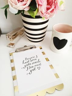 Sunday Thoughts and a Free Printable | Felicity Jane