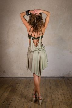 Goddess Dress and Light summer dress for festivals Festival Dress, Festival Fashion, Woman Outfits, Cool Outfits, Jedi Outfit, Pixie Outfit, Dystopian Fashion, Goddess Dress, Steampunk Clothing