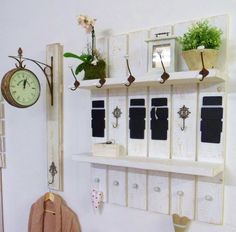 1000 images about garferobe on pinterest shabby shabby chic and shabby vintage. Black Bedroom Furniture Sets. Home Design Ideas