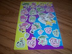 Fairy Odd Parents Stickers
