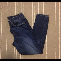 GAP 1969 legging jean Super comfy gap 1969 legging Jean in 29r. These are soft and stretchy and slide easily into boots and look great with flats or sandals. A perfect staple for your wardrobe! All jeans in my closet are BOGO half off!  GAP Jeans Skinny