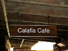 https://flic.kr/p/6SEHjw   Calafia Cafe signage - Palo Alto, California   The owner of Calafia Cafe was the executive chef for Google.