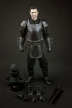 "1//6 Scale Figure Club The League of Shadows Ducard  Body armor for 12/"" figure"