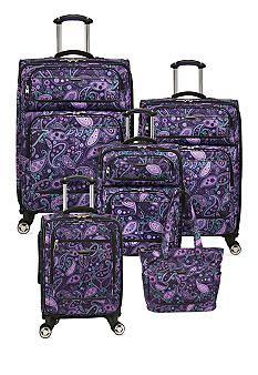 Ricardo Mar Vista Spinner Luggage Collection -  Purple Paisley