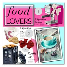 """Gift Guide: Food Lovers"" by vanjazivadinovic ❤ liked on Polyvore featuring interior, interiors, interior design, home, home decor, interior decorating, DeLonghi, Villeroy & Boch, giftguide and polyvoreeditorial"
