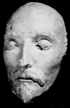 (reputedly) Shakespeare's death mask