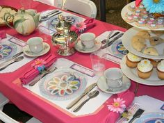 Daisy Mother's Day tea party
