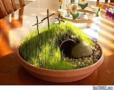 Good Friday Easter Garden Project : Crucifixion Hill Plant