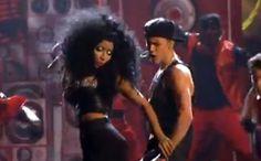 (Video) Justin Bieber & Nicki Minaj Perform 'Beauty & A Beat' At The AMAs
