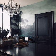 Les 200 meilleures images du tableau Papier peint • Salle à manger ...