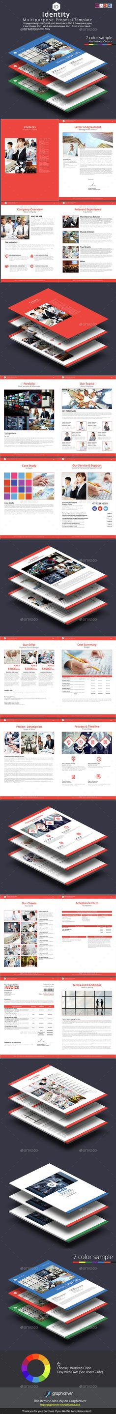 Proposal Creative, Template and Proposals