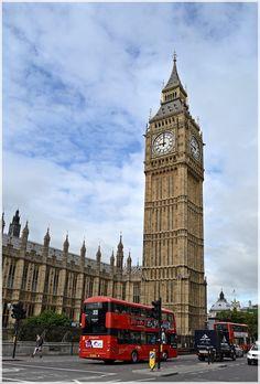 El Big Ben y el Parlamento .  Londres  http://www.viajesenfamilia.it/