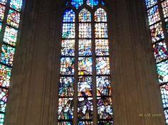 Foto - Google Foto's glas in lood grote kerk