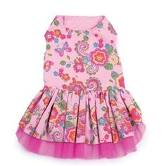 Spring Garden Dog Dress
