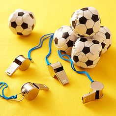 Game-Theme Birthday Parties: Twister, Soccer, and More!: Soccer Party: Favor (via Parents.com)