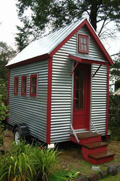 XS-House Plans | Tumbleweed Tiny House Company - Fits in a standard parking space!