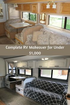 remodel rv interior walls Camping has reinvented itself and is becoming more inviting to even the absolute most glamo. Camper Diy, Rv Campers, Camper Ideas, Remodel Caravane, Rangement Caravaning, Travel Trailer Remodel, Travel Trailers, Rv Redo, Rv Homes