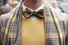 Camp bow tie #mens wear