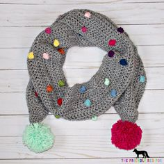The Bobble Stitch Confetti Scarf is fun and funky, and just what I need at the the part of winter that comes after Christmas... You know w...