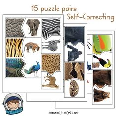 Match the Fur to the Zoo Animal – Visual Discrimination Science Activity Passen Sie das Fell an das Zootier an – Visual Discrimination Science Activity Preschool Zoo Theme, Preschool Science, Science Activities, Safari Jungle, Jungle Animals, Jungle Theme, The Zoo, Animal Activities, Montessori Activities