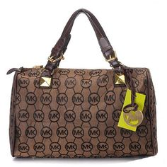 Michael Kors Grayson Large Satchel Chocolate