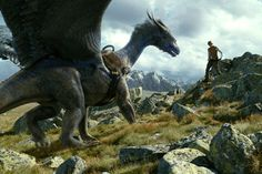 eragon - Google Search  The movie Saphira design was an interesting concept which I know has been the source of debate for many, especially with the use of 'feathered' wings-- personally I did love it-- however I've always been more annoyed by the placement of her wings which seem to have been moved farther back in order to 'better' accommodate the saddle but to me make it look like she'd be too unbalanced or top heavy when flying.  Opinions anyone? < Magic.