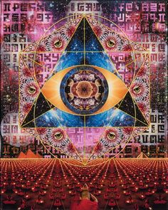 """""""With each person who awakens, the momentum in the collective consciousness grows, and it becomes easier for others."""" ~Art By Eric Vigil / Sacred Geometry ..*"""