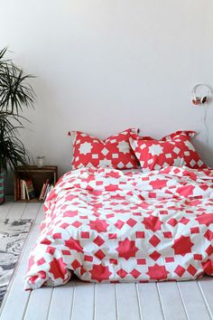 Magical Thinking Star Block Duvet Cover #urbanoutfitters