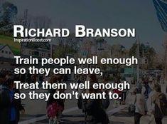 Richard Branson How to treat employees