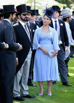 royalwatcher:  Royal Ascot 2014, Day 1, June 16, 2014-Sheikh Mohammed bin Rashid Al Maktoum and Princess Haya bint Al Hussein
