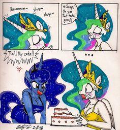 . Mlp Memes, My Little Pony Comic, Little Poni, Mlp Comics, Princess Celestia, Mlp Pony, Furry Drawing, Comic Pictures, Anime