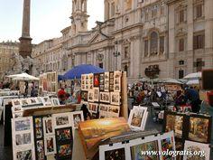 Pittori a Piazza Navona