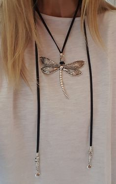 Choker, Vegan Choker, dragonfly pendant, vegan Choker, Hippie, woman vegan, adjustable, slide choker, myDemimore, love, girlfriend, fahsion Check out our Bracelets and Earrings for matching pieces ! * We also manufacture according to your own wish * Can I choose different sizes ?